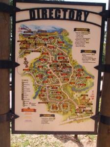 Disney's Fort Wilderness Resort & Campground Map