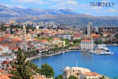 City views of Split, Croatia