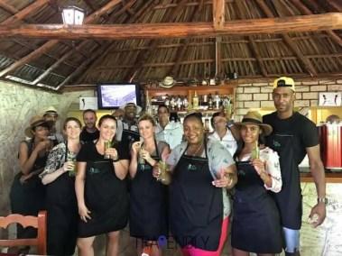 Cooking class success in Cojimar Cuba