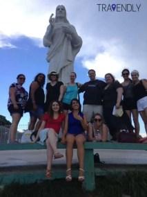 El Cristo Blanco of Havana Cuba