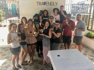 Mojito break in Trinidad Cuba