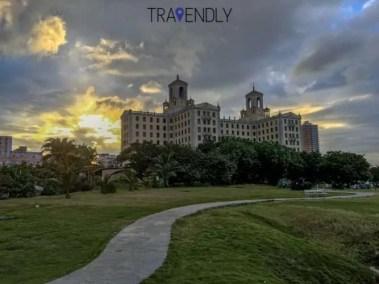 Famous Hotel Nacional in Havana Cuba