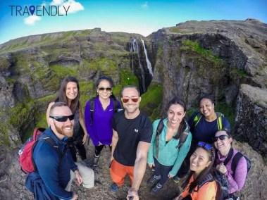 Iceland summer hiking