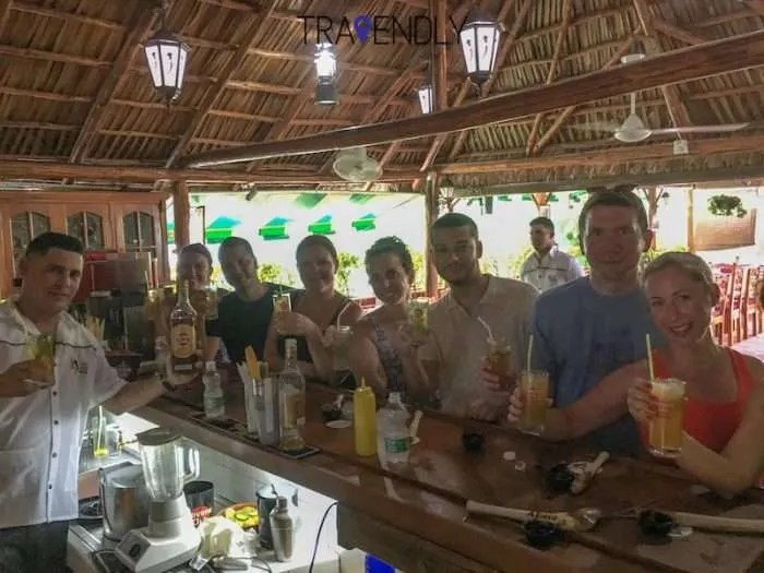 Mojito class success in Cojimar Cuba