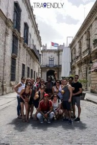 In the streets of Old Havana