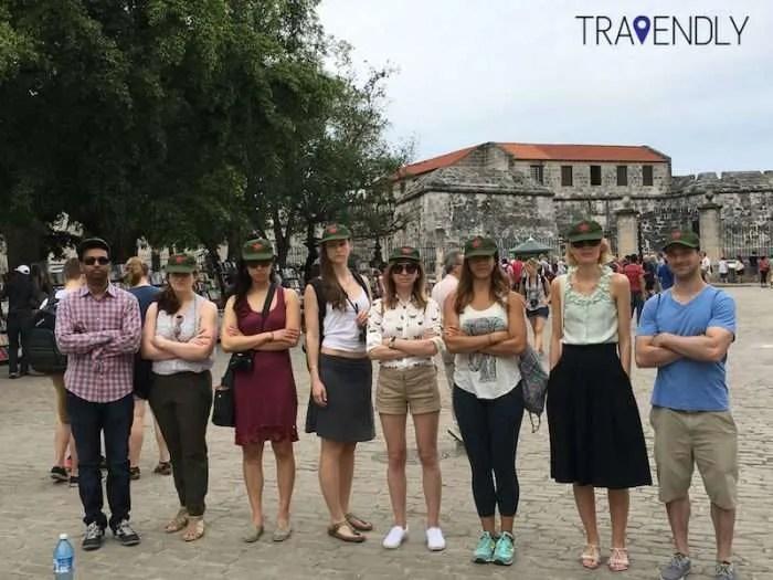 Slightly serious in Old Havana Cuba