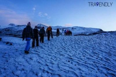 Glacier hike in Skaftafell, Iceland