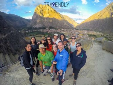 Selfie in Ollantaytambo Peru