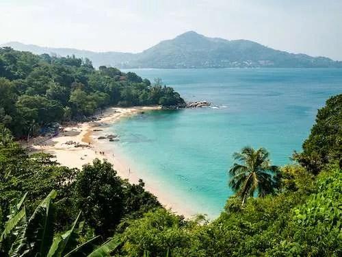 Kamala beach in Phuket Thailand