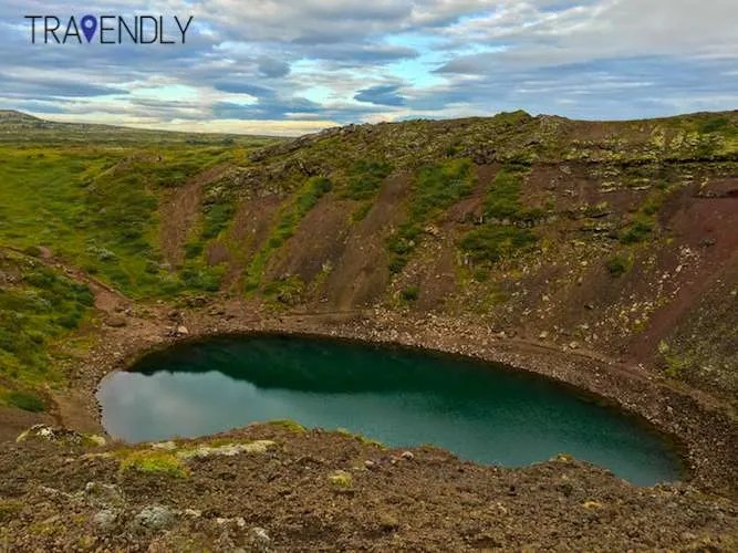 kerid crater Iceland summer