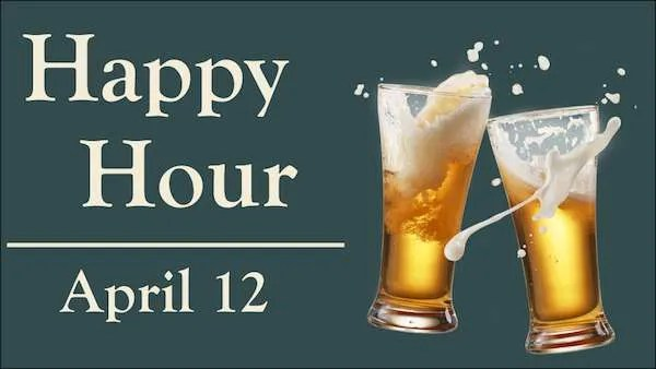 happy hour april 12 2018