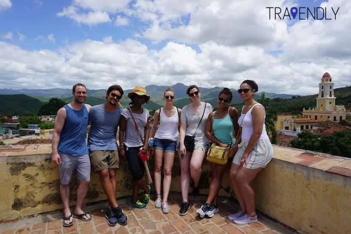 Rooftop views on our Cuba group tour in Trinidad