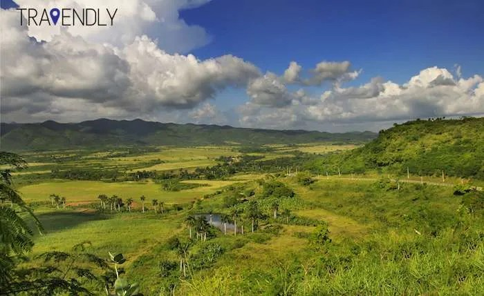 Valley of the Sugar Mills near Trinidad Cuba