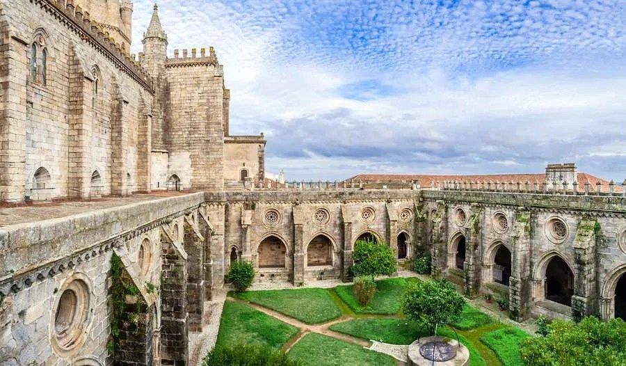 The Cathedral of Evora Portugal