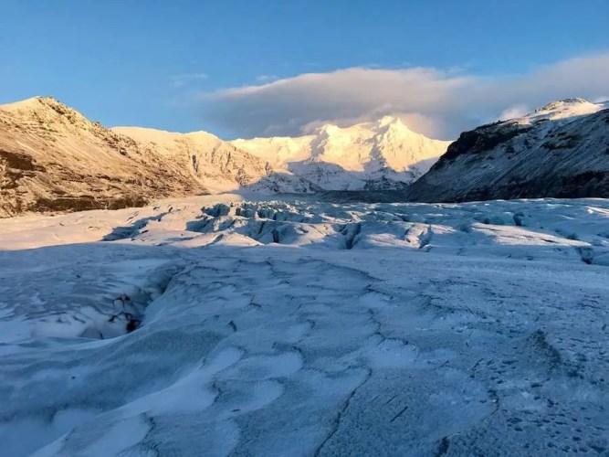 Skaftafell glacier Iceland Game of Thrones location