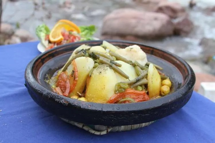 Traditional tagine dish Morocco