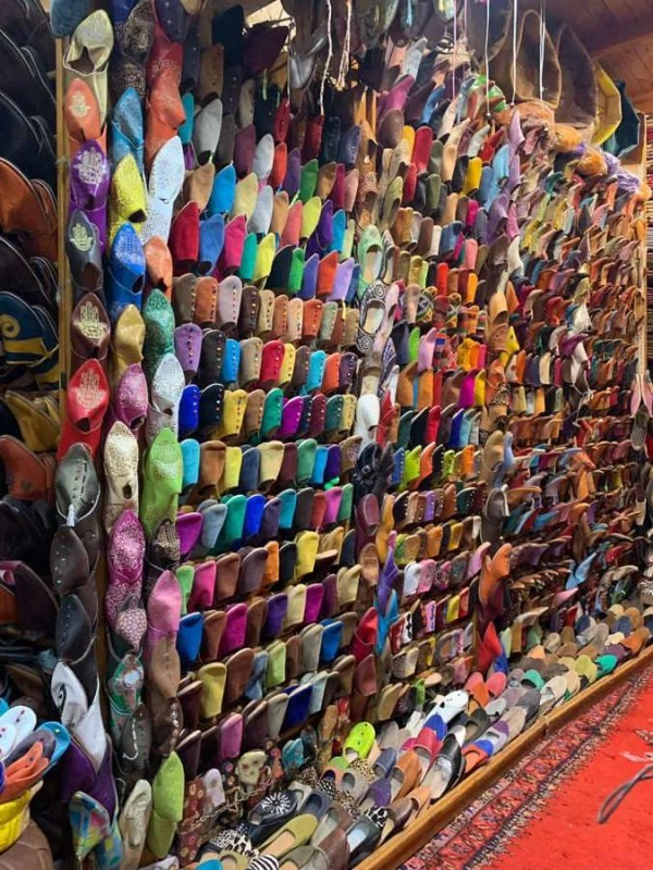 So many shoes Morocco