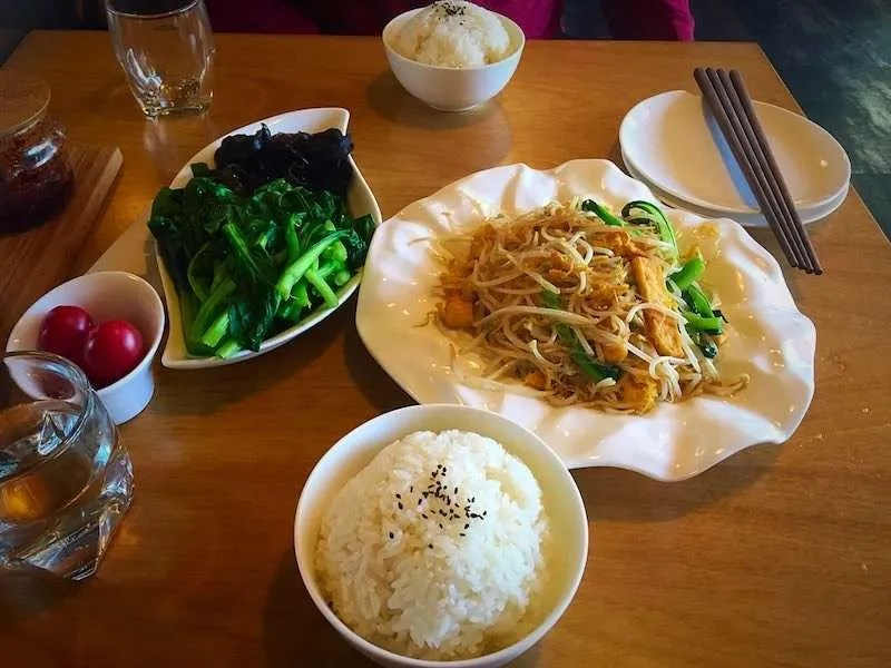 Traditional Thai food presentation chiang mai