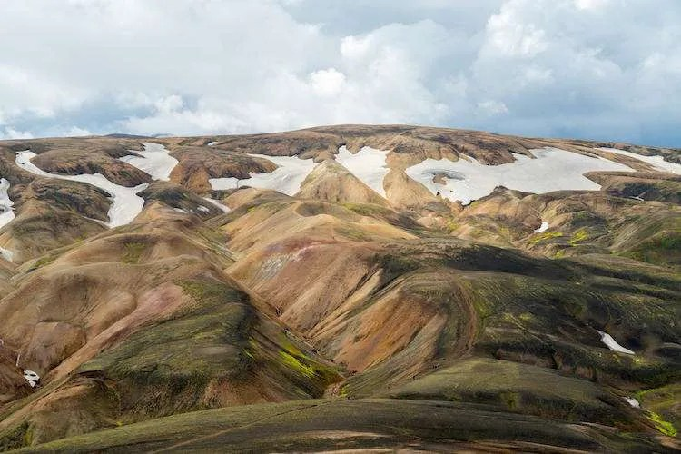 Landmannalaugar summer day Iceland