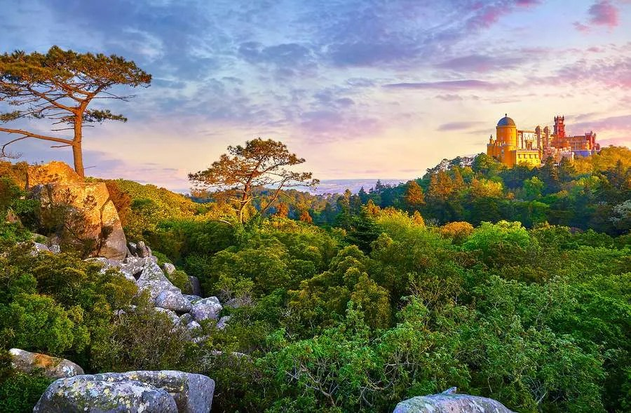 National park Sintra Portugal