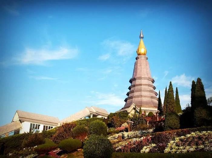 Chedis monument Doi Inthanon