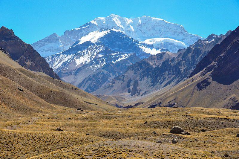 Aconcagua national park Mendoza Argentina