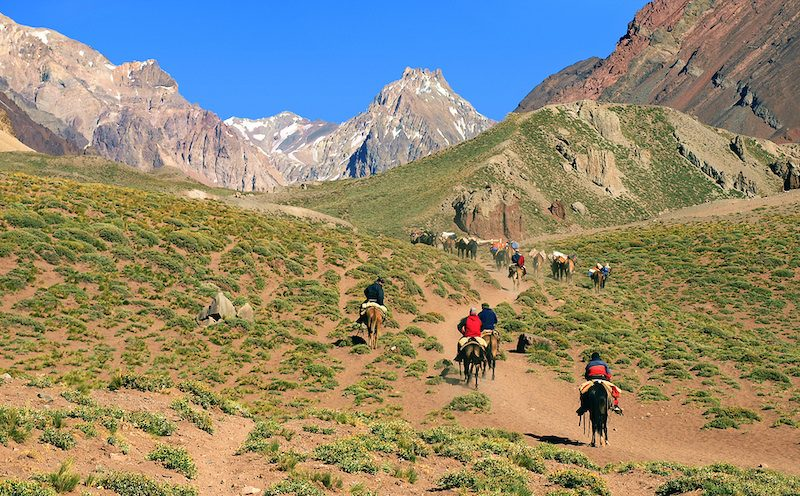 Argentina estancia horseback riding