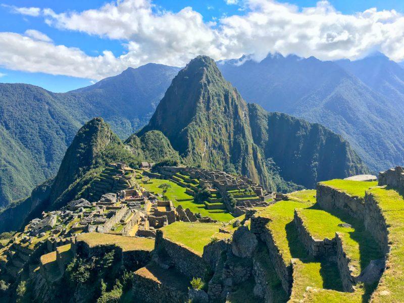 Iconic Machu Picchu shot