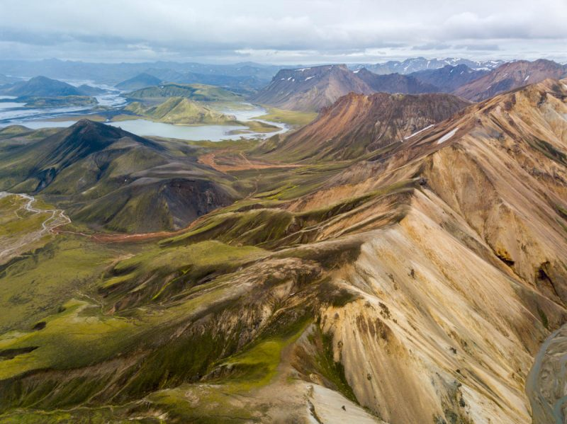 Unreal beauty in the highlands of Iceland