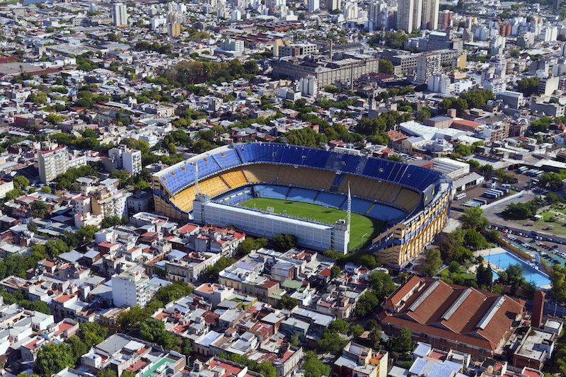 La Boca stadium Buenos Aires Argentina
