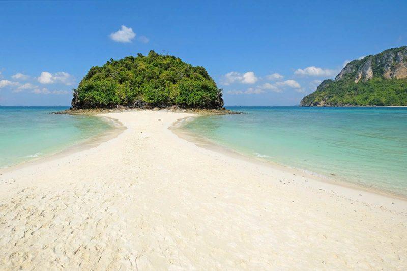 Miracle beach on Ko Poda Island Thailand