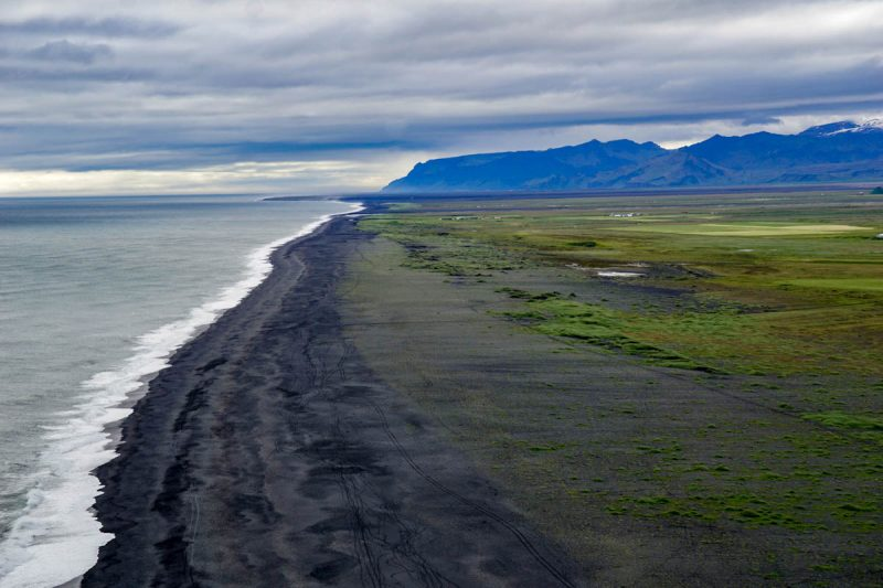 South coast of Iceland
