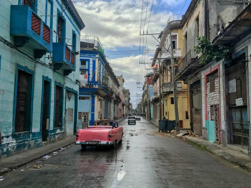 Streets of Central Havana Cuba