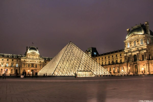 Stunning Louvre Museum Night - Paris Traven Luc