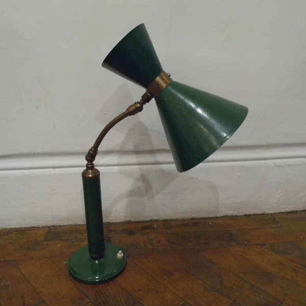 Green Mid Century Lamp