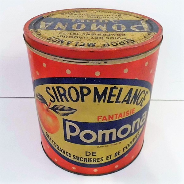 Vintage Syrup Tin