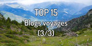 Top 15 blogs voyages