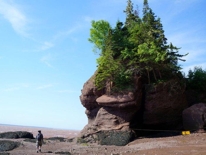 Traces-de-voyages-Hopewell-Rocks-Nouveau-Brunswick-CANADA