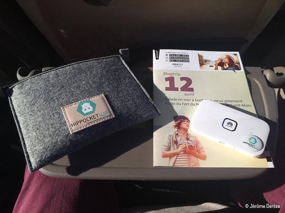 salon des blogueurs de voyage - Hippocket wifi