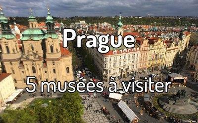 5 musées à visiter à Prague