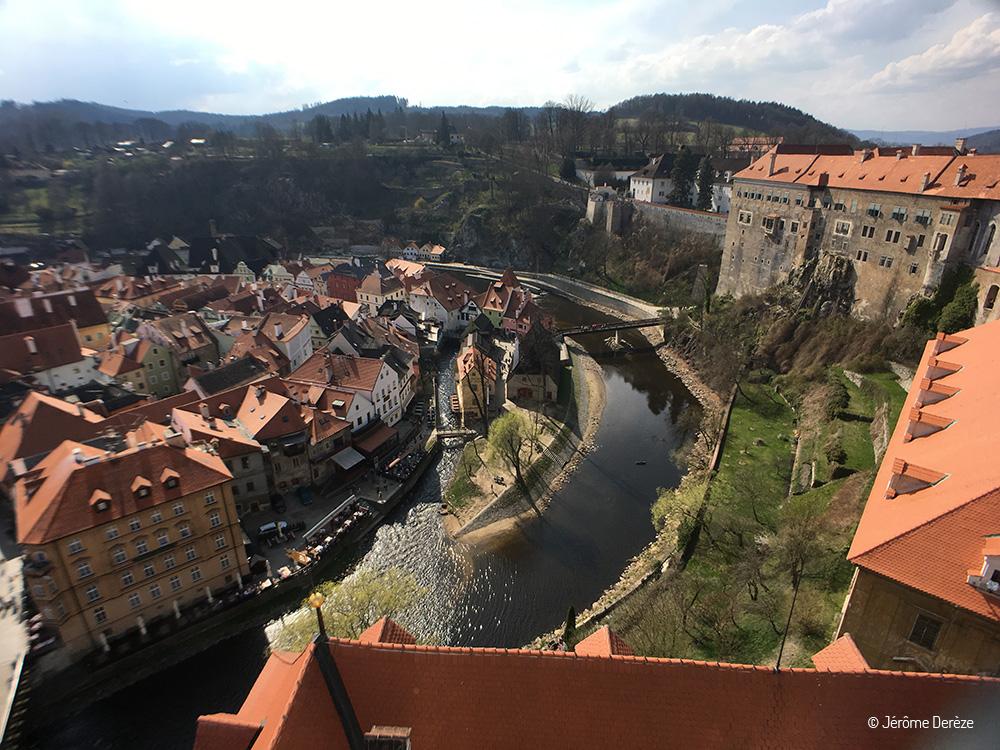 Découvrir Cesky Krumlov en République Tchèque