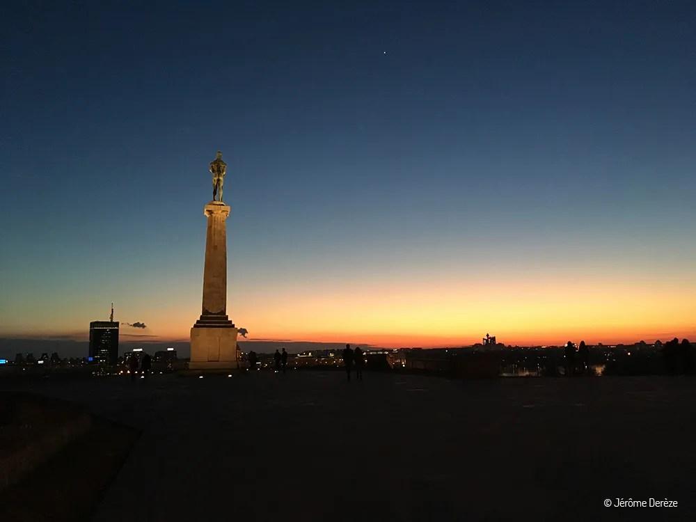 Lieux à visiter à Belgrade - La forteresse de Belgrade - Parc de Kalemegdan