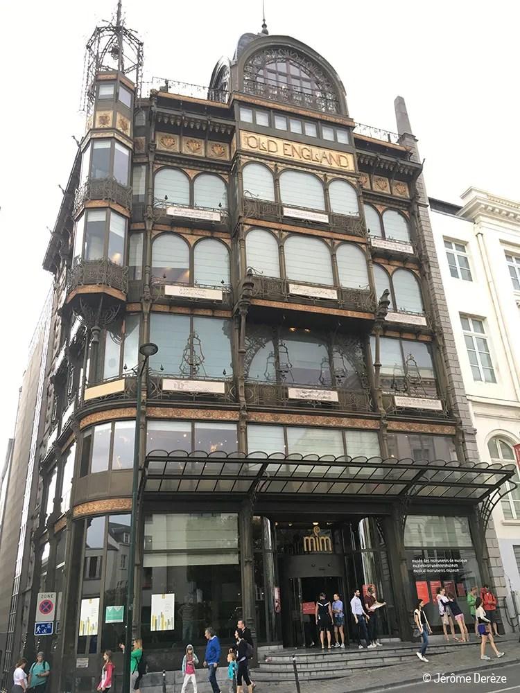 Musée à visiter à Bruxelles - Musée des instruments de musique - MIM