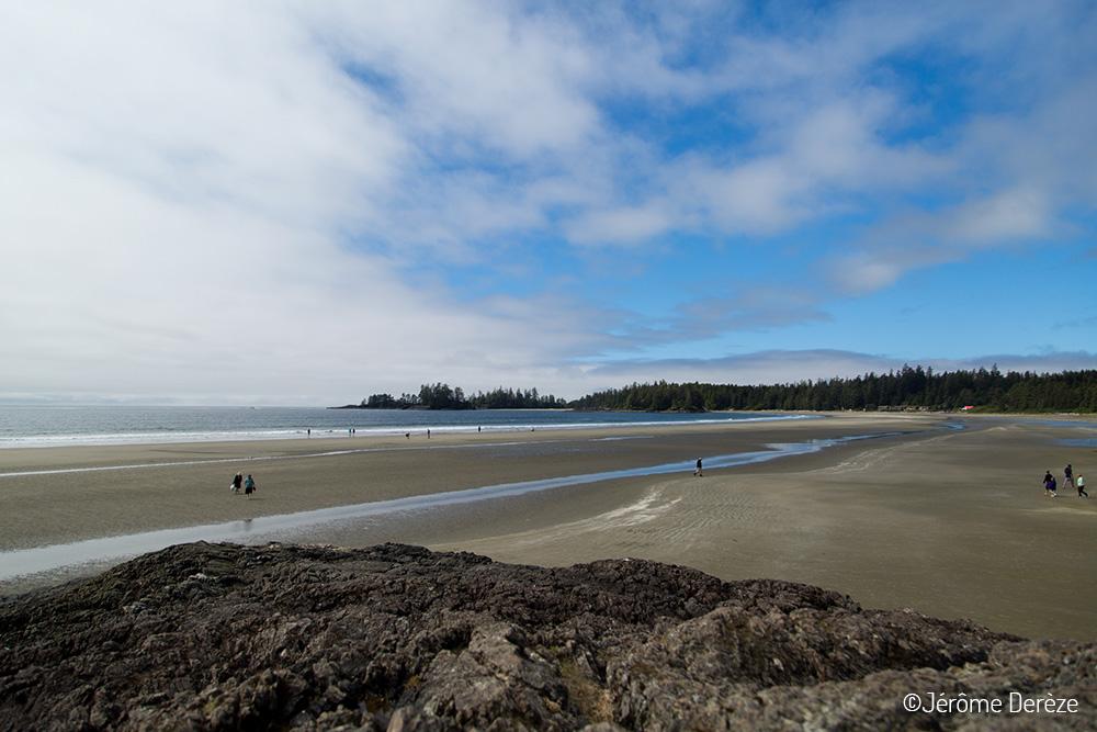 Au parc Pacific Rim face à l'océan pacifique - Parcs Canada