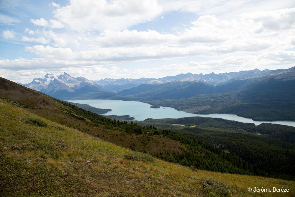 voyager au parc national de Jasper - Lac Maligne