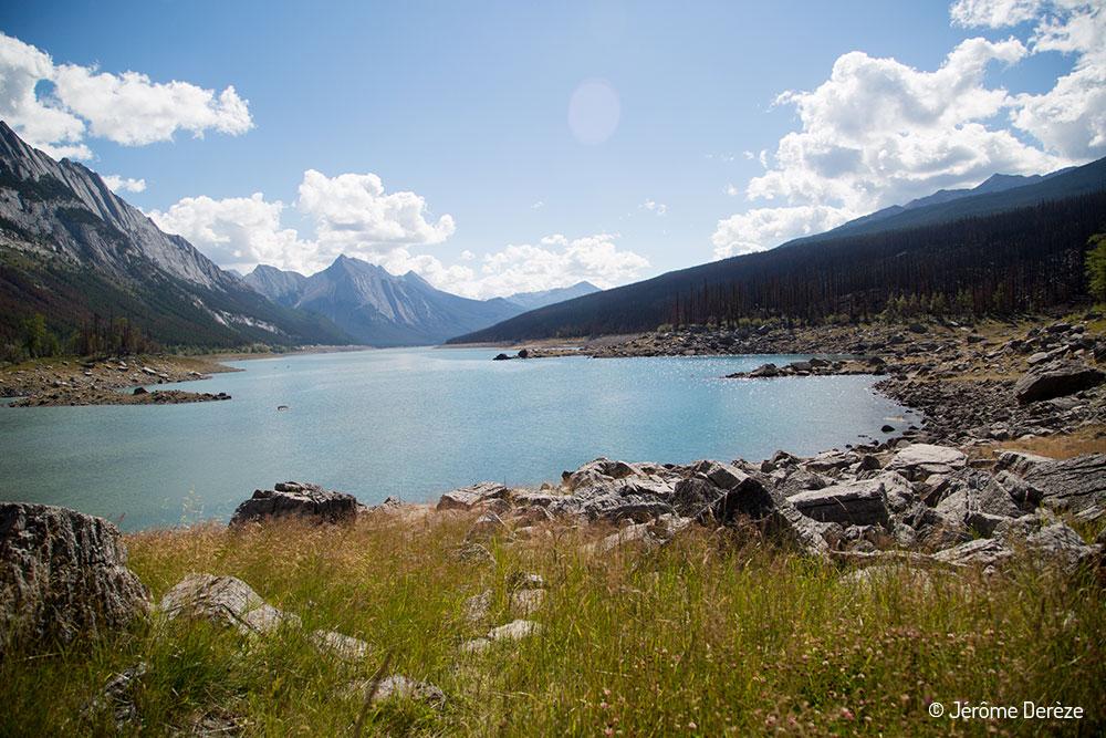 voyager au parc national de Jasper - Lac Medicine