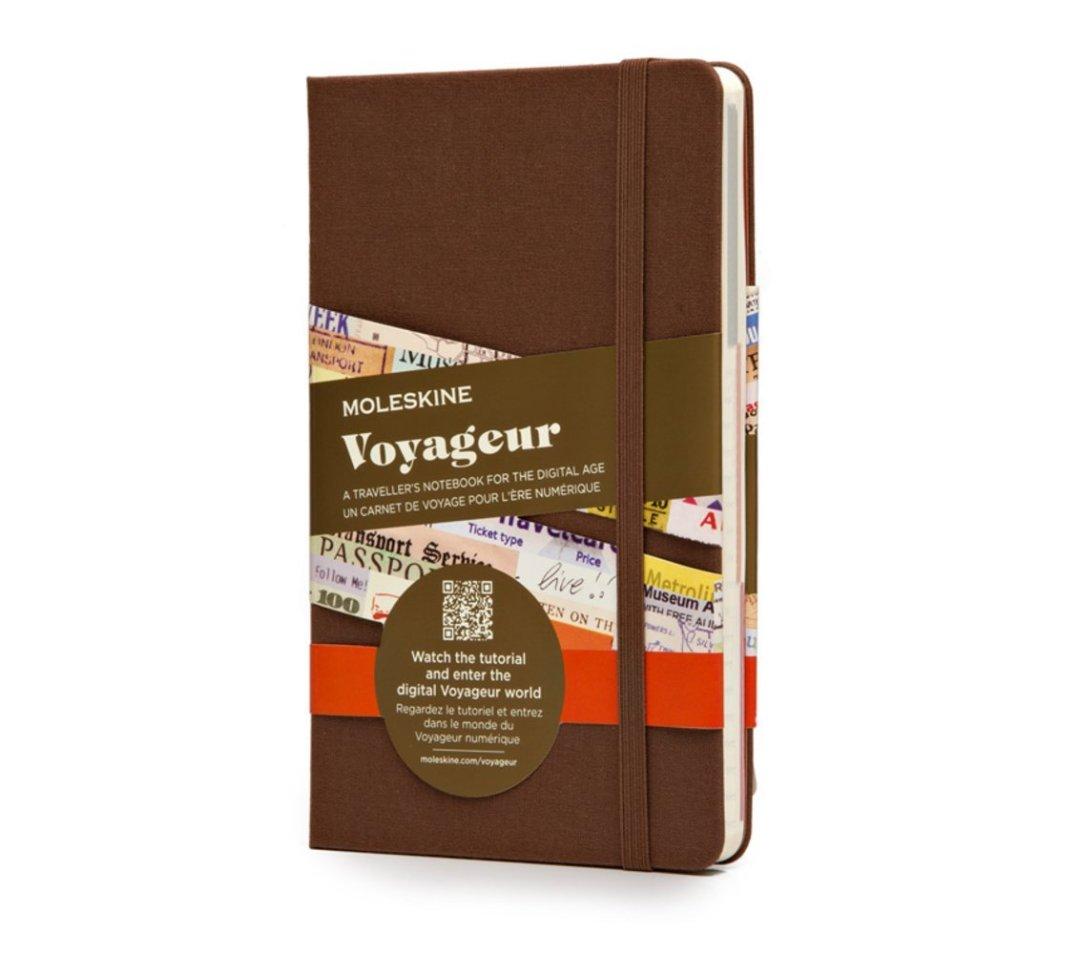 Le calepin Moleskine Voyageur