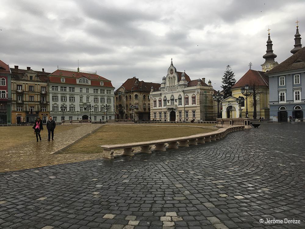 5 lieux à visiter à Timisoara - Piata Unirii