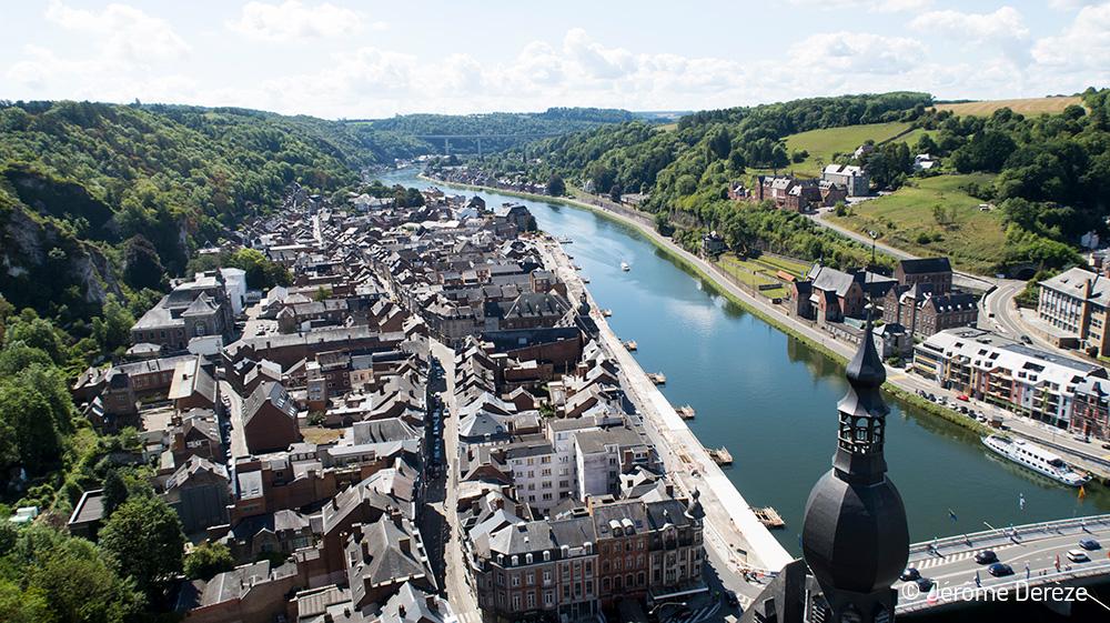 Découvrir la ville de Dinant en Wallonie