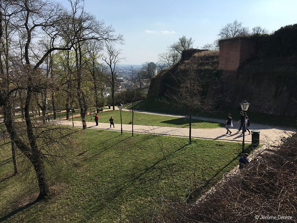 La forteresse et le château du Špilberk à Brno